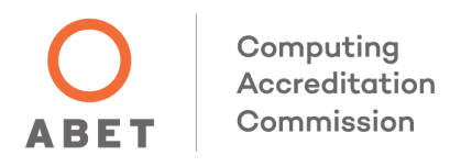 This program is accredited by the ABET Computing Accreditation Commission.