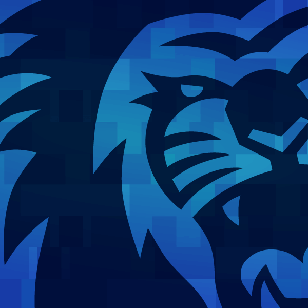 ODU lion illustration