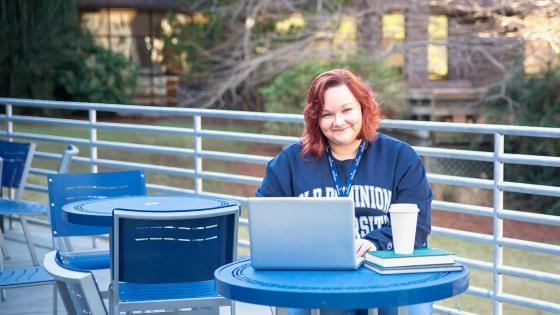 Leah Liberty, ODU Online Student