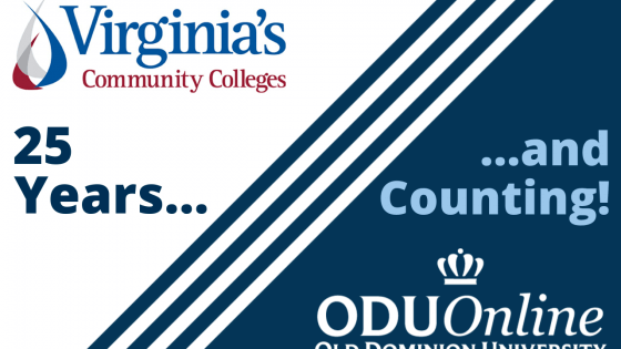 Virginia's Community College and ODU: 25 years and counting!