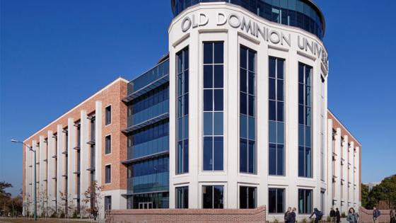 Photo of Old Dominion University's education building